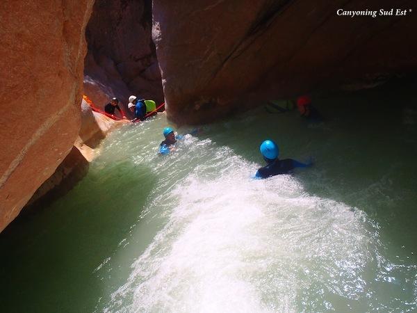 Le canyoning en France
